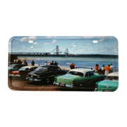 Mackinac Bridge License Plate