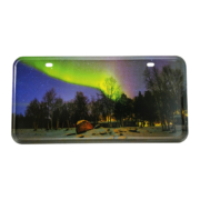Northern Lights License Plate